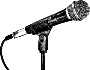 microphone (1) graphic pen