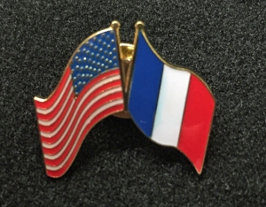 French-US Flags